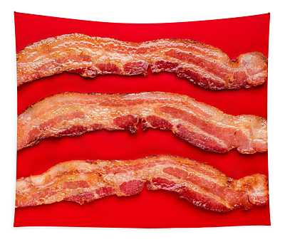 Thick Cut Bacon Tapestry