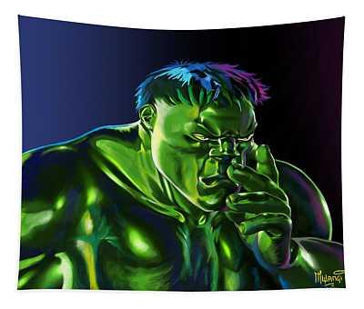 Thinking Hulk Tapestry