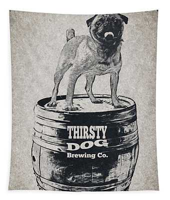 Thirsty Dog Brewing Co. Keg Tapestry