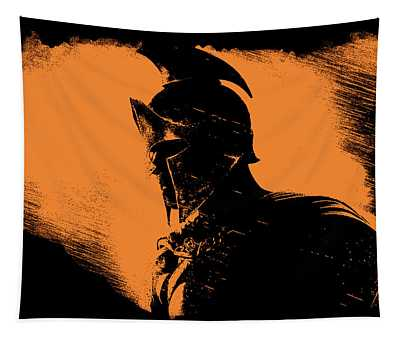 This Is Sparta Tapestry