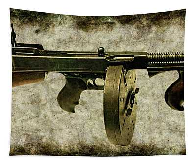 Thompson Submachine Gun 1921 Tapestry