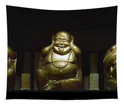 Three Buddhas Tapestry