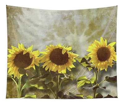 Three In The Sun Tapestry