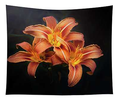 Three Lilies Tapestry