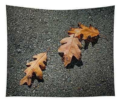 Three Oak Leaves Tapestry