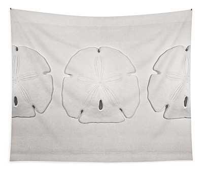 Three Sand Dollars Tapestry