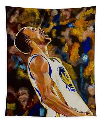 Thrill Of Victory Tapestry