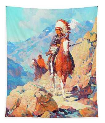 Thunder Bird Tapestry