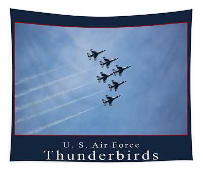 Thunderbirds Tapestry