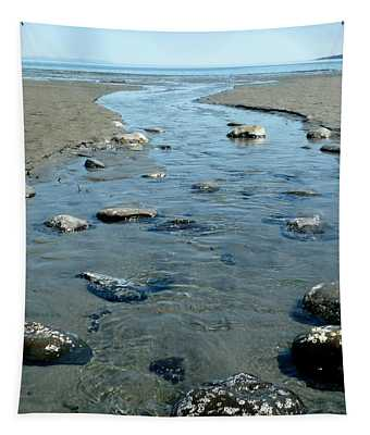 Tapestry featuring the photograph Tidal Pools by 'REA' Gallery