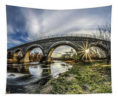 Tiffany Bridge Panorama Tapestry