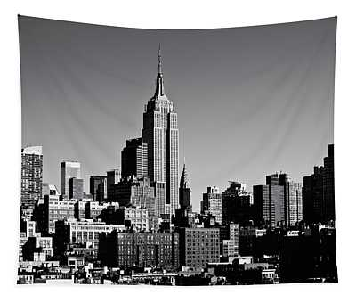 Timeless - The Empire State Building And The New York City Skyline Tapestry