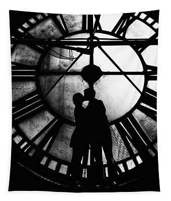 Timeless Love - Black And White Tapestry