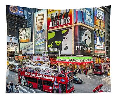Times Square II Tapestry
