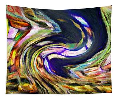 Times Square Swirl Tapestry