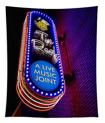 Tin Roof Beale Street Tapestry