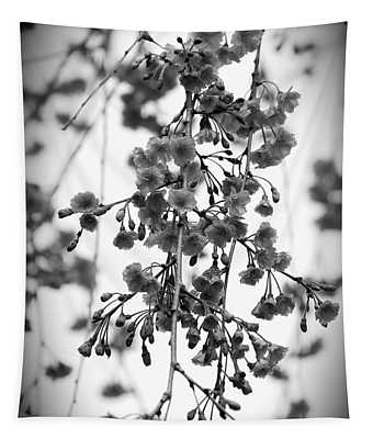 Tiny Buds And Blooms Tapestry