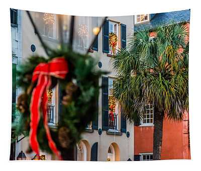 Tis The Season - Charleston Sc Tapestry