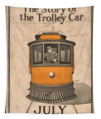 Tolley Car Vintage Tapestry