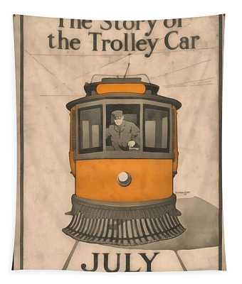 Trolley Wall Tapestries