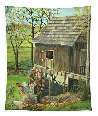 Tom Lott's Mill In Georgia Tapestry