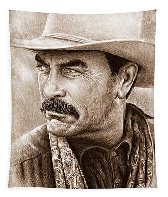 Tom Selleck The Western Collection Tapestry