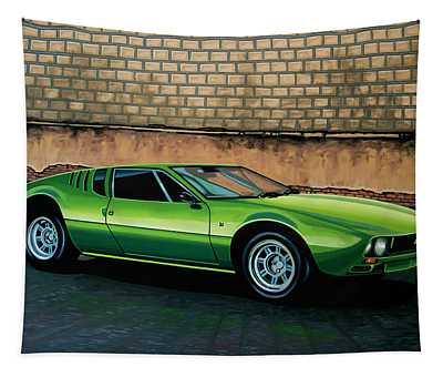 Tomaso Mangusta 1967 Painting Tapestry