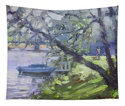 Tonawanda Canal Side Tapestry