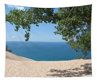 Top Of The Dune At Sleeping Bear Tapestry