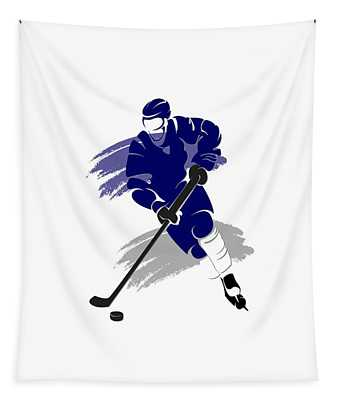 Toronto Maple Leafs Player Shirt Tapestry