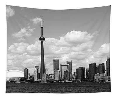 Toronto Skyline 11 Tapestry