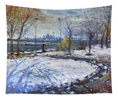 Toronto Skyline Tapestry