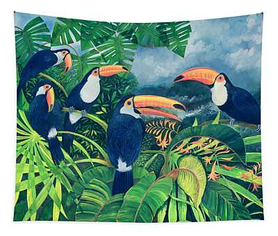 Toucan Talk Tapestry
