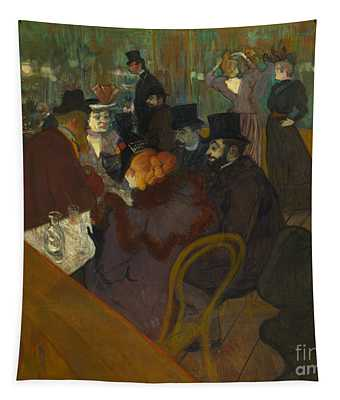 Toulouse-lautrec Moulin Rouge Tapestry