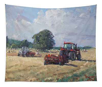 Tractors In The Farm Georgetown Tapestry