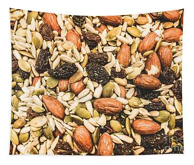 Trail Mix Background Tapestry