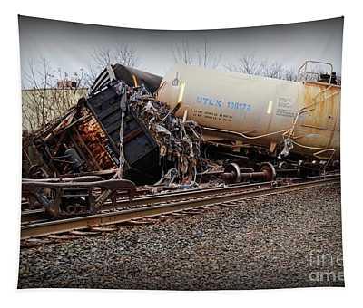Train Accident  Tapestry