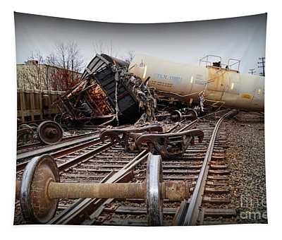 Train Wreck  Tapestry