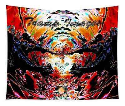 Tramp Images Logo Tapestry