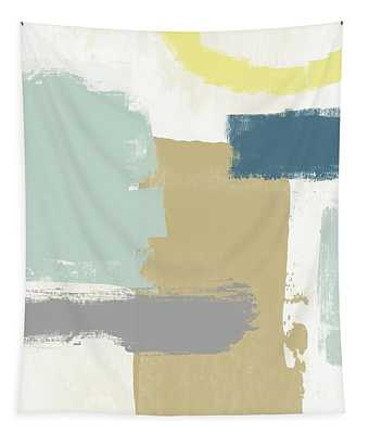 Tranquil Abstract 4- Art By Linda Woods Tapestry