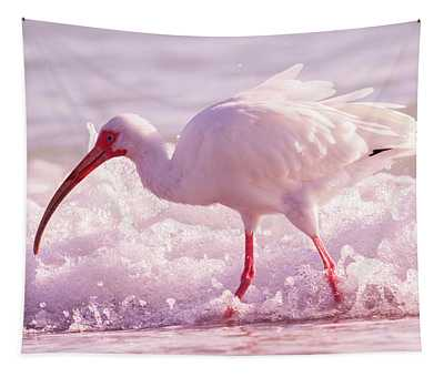 Tranquil Beauty Cortez Beach Tapestry