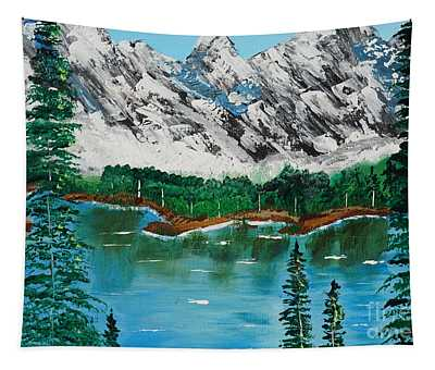 Tranquil Countryside  Tapestry