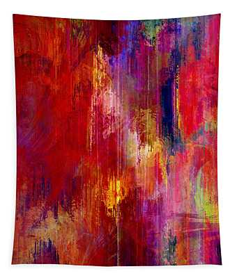 Transition - Abstract Art Tapestry