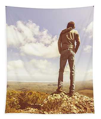 Travel Tourist Trekking West Coast Tasmania Tapestry