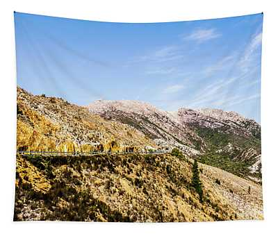Travelling Rugged Alps Tapestry