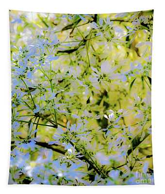 Trees And Leaves Tapestry