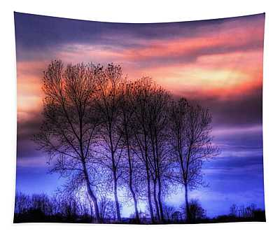 Trees And Twilight Tapestry