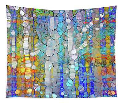 Trees In Hiding Tapestry