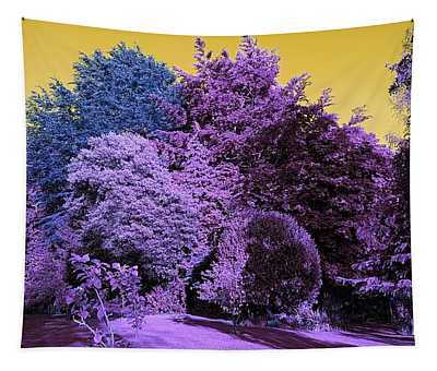 Treescape In Violet Mix Tapestry