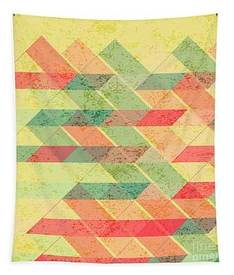 Triangles Pattern Tapestry